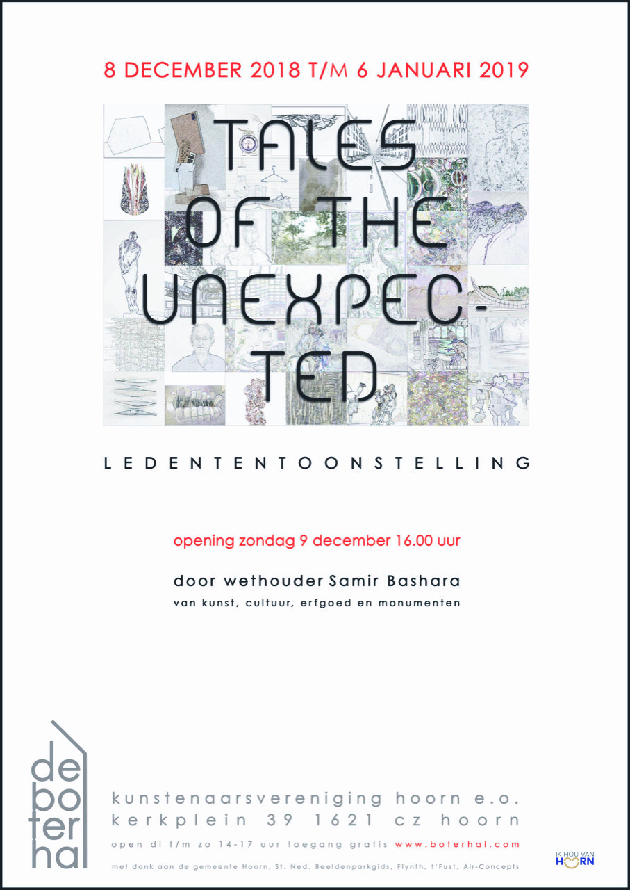 Ledententoonstelling – Tales of the unexpected