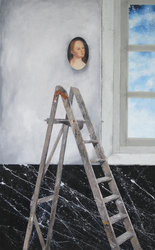 Schilderij Dominique Ampe