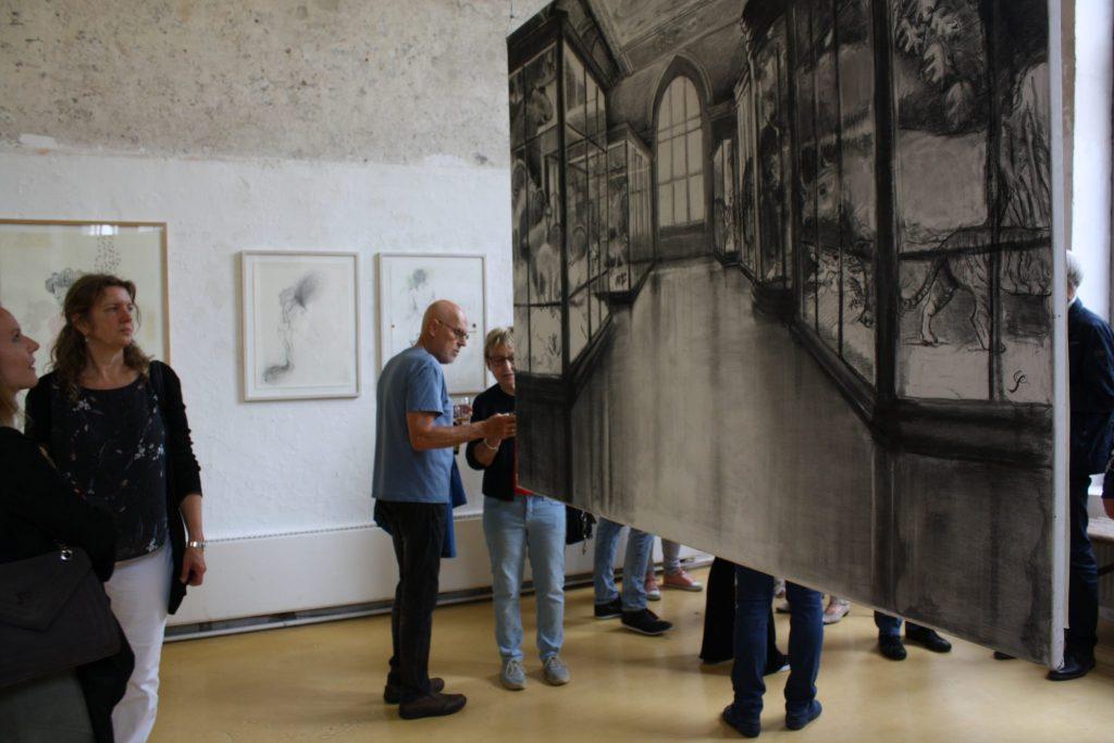 Opening expositie 'Is getekend'