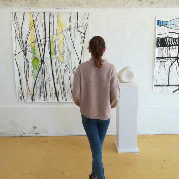 Clusiuscollege bezoekt 'Hoezo Abstrakt?'