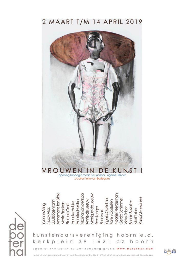 Poster Vrouwen in de kunst De Boterhal