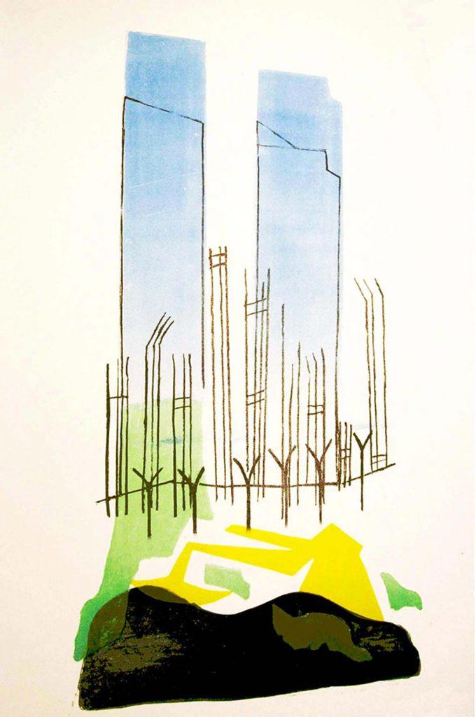 grafiek 19 twin towers contrast De Boterhal