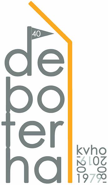 40 jaar jubileum-logo De Boterhal