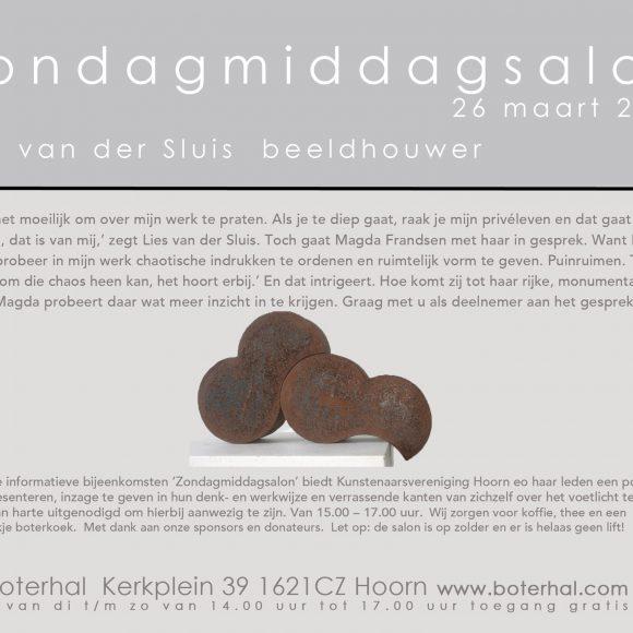 Zondagmiddagsalon Lies van der Sluis