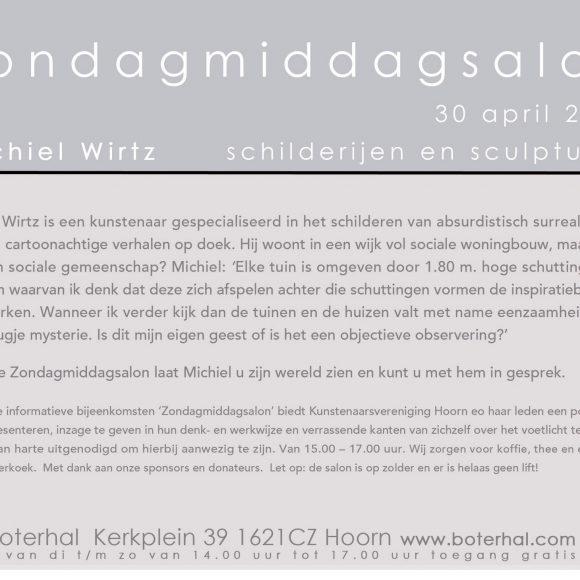 Zondagmiddagsalon Michiel Wirtz