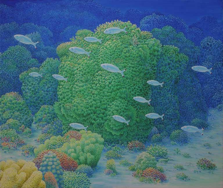 2008 acryl canvas 100x120 cm Paul Stap