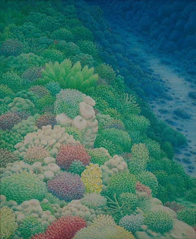 2009 acryl canvas 100x120 cm Paul Stap