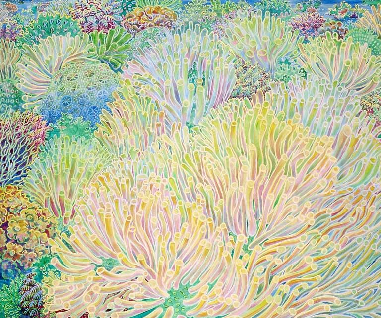 Z.T. 2004 acryl canvas 100x120cm Paul Stap
