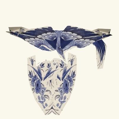 Workshop –Collages Delfts blauw