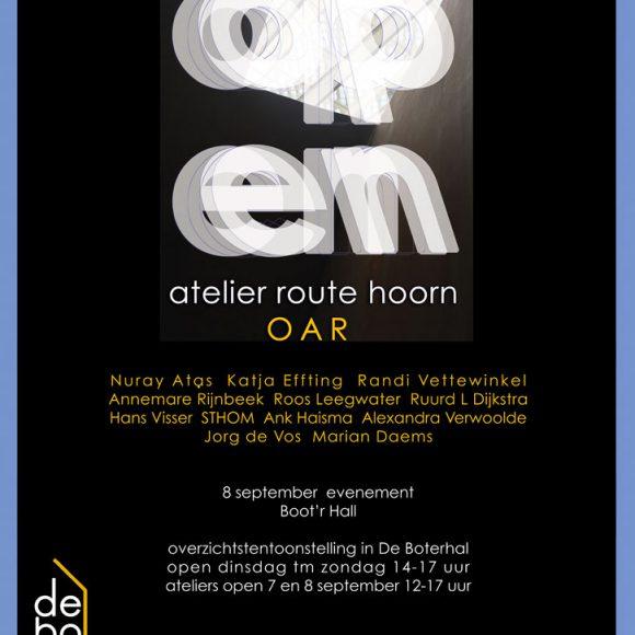 Overzichtstentoonstelling Open Atelier Route