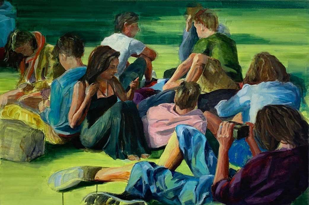 Chris Vandegehuchte over figuratieve kunst in de Zondagmiddagsalon