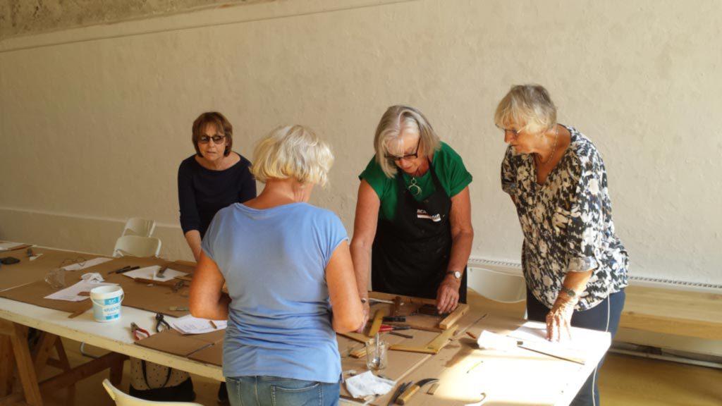 workshop Maja de Haan glas in lood