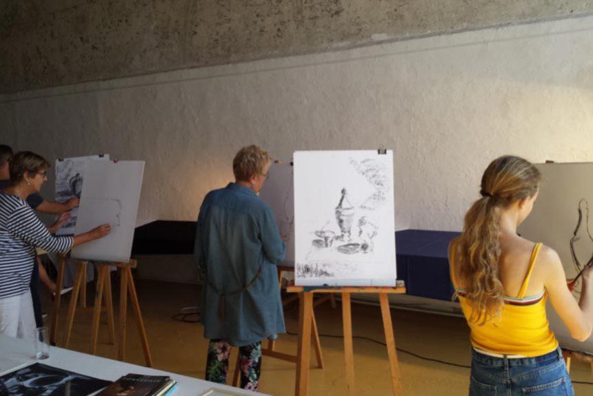 Ontzettende leuke workshop van Noortje Peerdeman