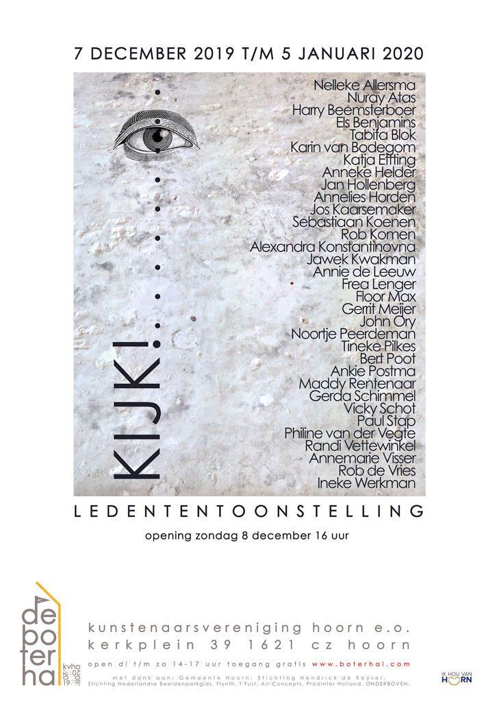 Poster expositie Kijk!