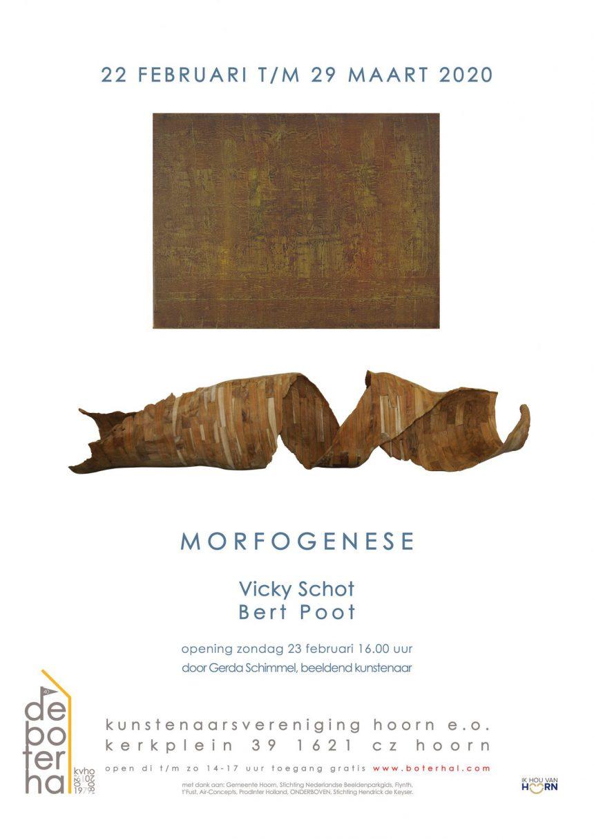 Poster Morfogenese Vicky Schot Bert Poot