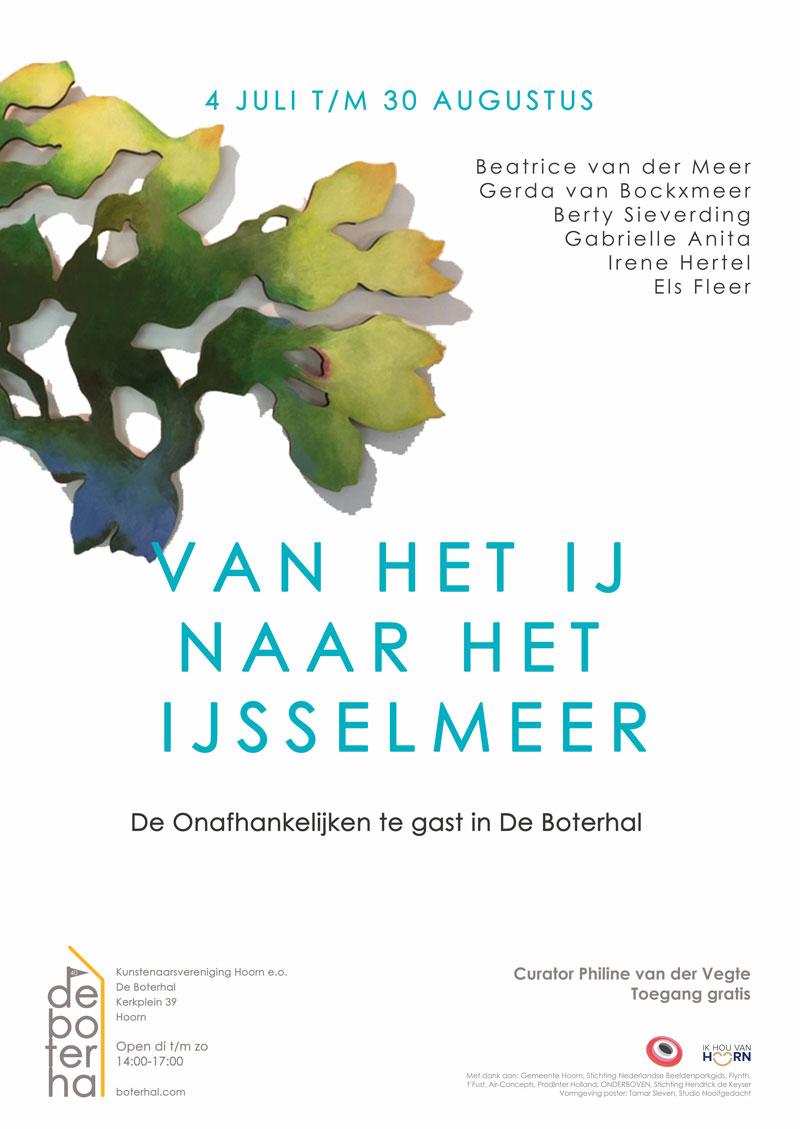 Poster--van het IJ naar het IJsselmeer juli 2020