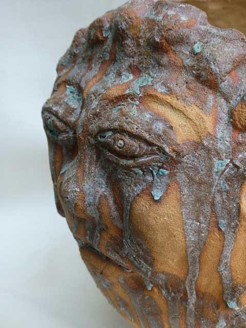 Berty Sieverding Boter op je hoofd keramiek