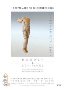Poster expositie Horden en Schimmel