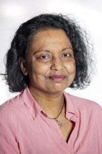 Amrita Karunaratne vrijwilliger De Boterhal