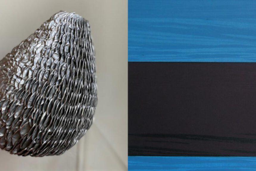 Kunstwerken van Annelies Horden en Ankie Postma