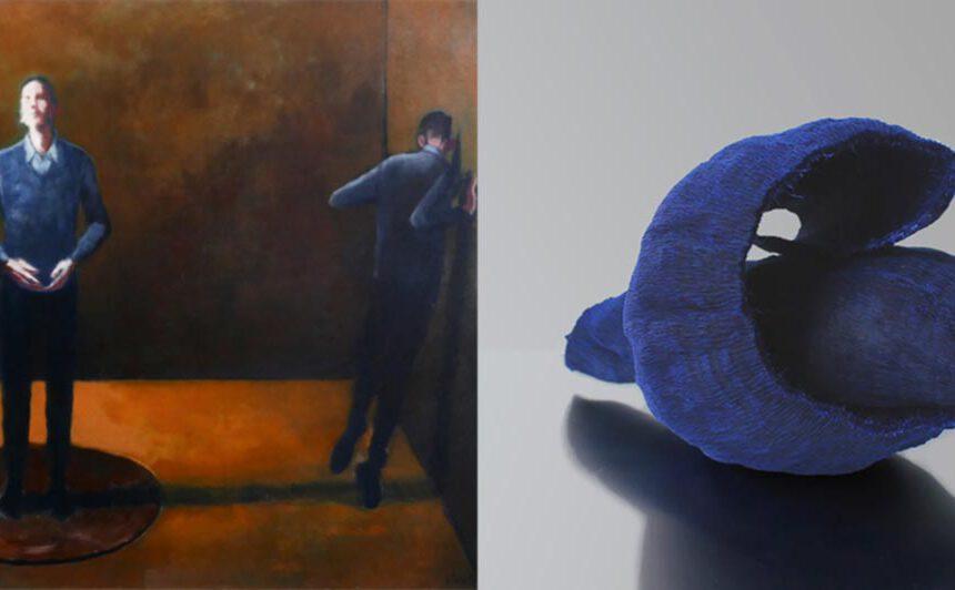 Kunstwerken van Noortje Peerdeman en Gerda Schimmel